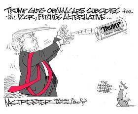 """Trumpcare""  (Mark Streeter/Savannah Morning News)"