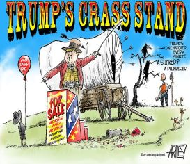 Trump's Crass Stand