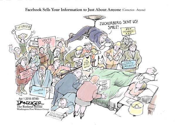 Jeff Danziger cartoon