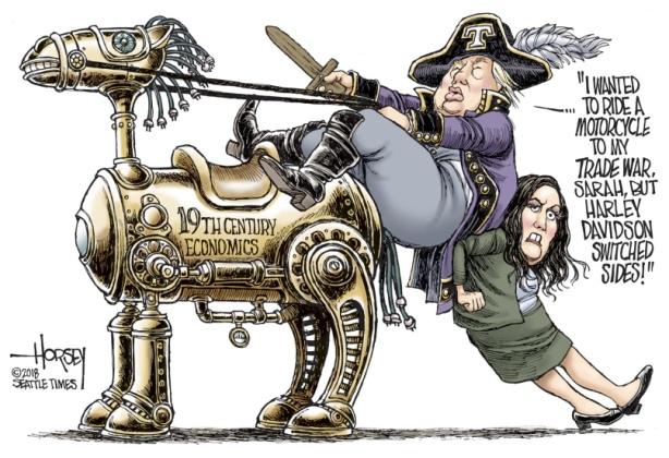 Horsey trade war