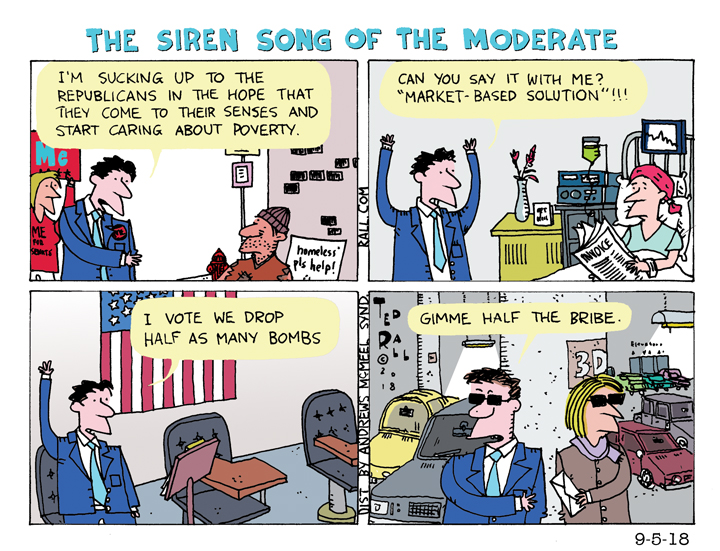 The Siren Song of the Moderate