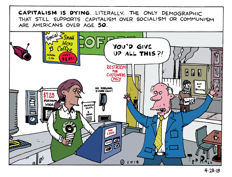 Capitalism Is Dying