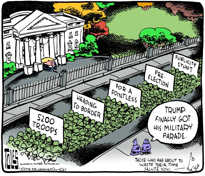 Tom Toles Editorial Cartoon - tt_c_c181101.tif