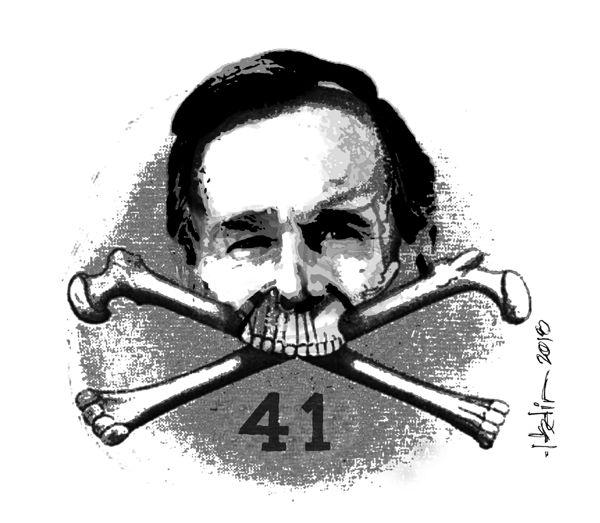 gw bush 41 skull & bones
