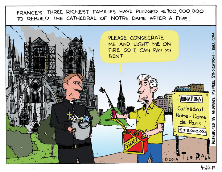 Broke? Declare Yourself a Church and Burn