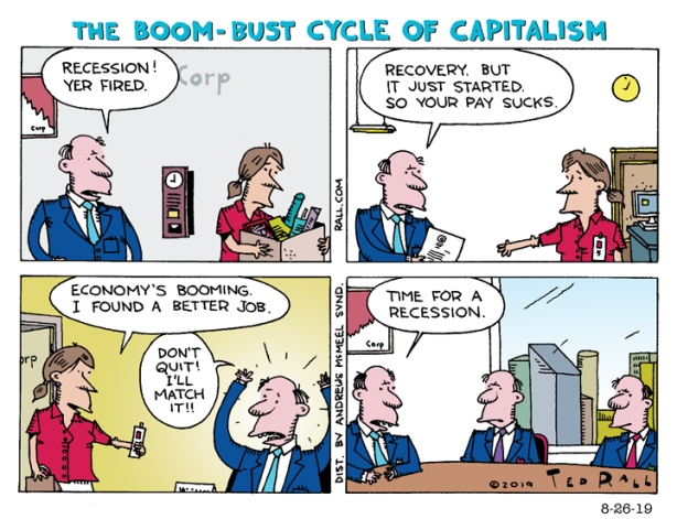 The Boom-Bust Cycle of Capitalism