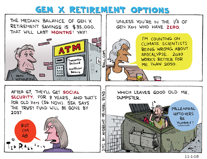 Generation X Retirement Options