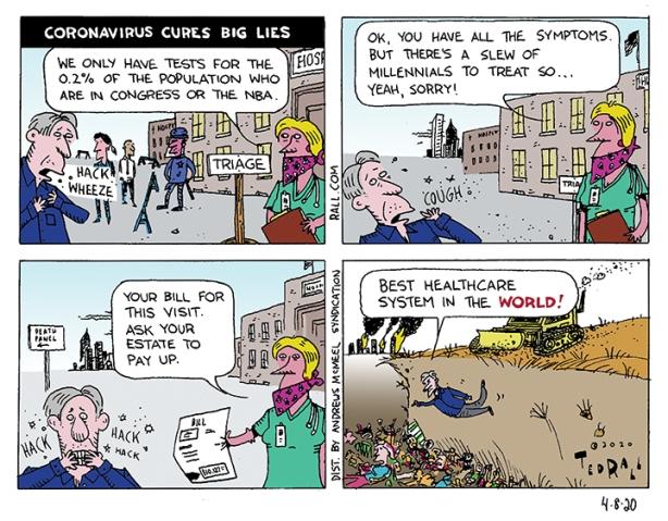 Coronavirus Cures Big Lies