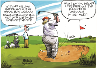 trumps-golfs-while-america-burns
