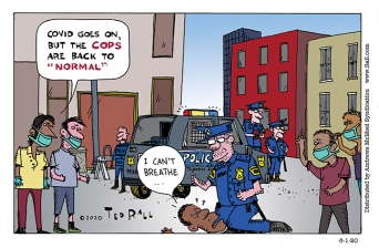 """If Nothing Else, the Cops Are Still """"Normal"""""""