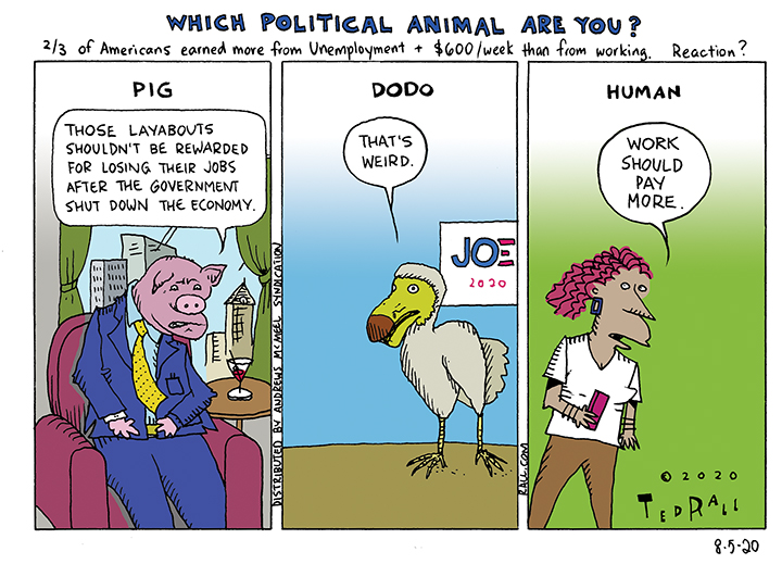 Which Political Animal Are You?
